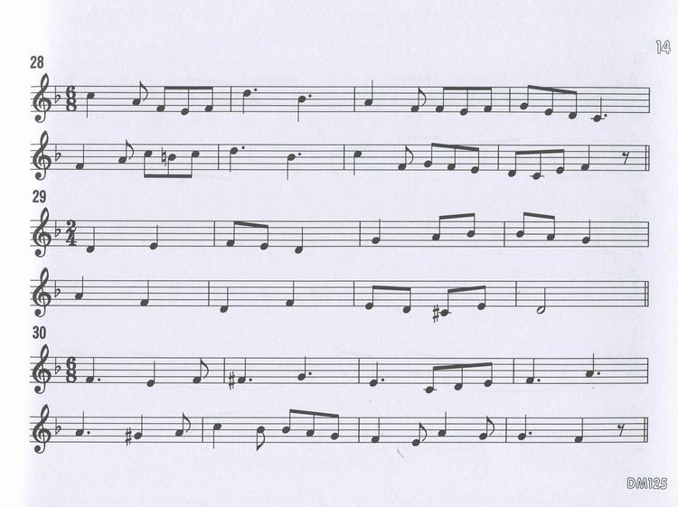 dm125 日本doremi 快乐的视唱视奏与听音 高级