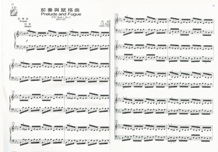 168天音音乐书城批发网 GP610 尼尔斯 巴洛克与古典乐曲 CD 乐谱 第